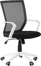 Swivel Desk Chair Black RELIEF