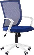 Swivel Desk Chair Blue RELIEF