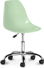 Swivel office chair with casters - Deswick Pale