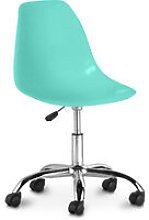 Swivel office chair with casters - Deswick