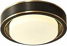 SWNN chandeliers Full Circular Copper LED Lamp