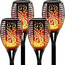 swonuk Solar Flame Lights Outdoor Solar Torch