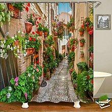 Swooggle Rural Garden Garden Shower Curtain