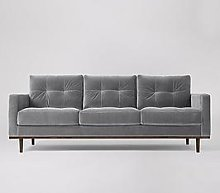 Swoon Berlin Fabric 3 Seater Sofa