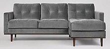 Swoon Berlin Fabric Right Hand Corner Sofa
