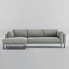 Swoon Munich Fabric Left Hand Corner Sofa - Soft