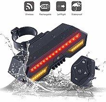 SxLingerie Bike Lights, Bike Tail Light with Turn
