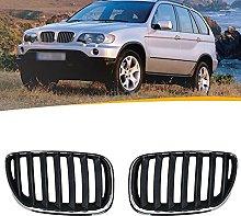 SXPENG 1 pair of car front hood bumper Kindey