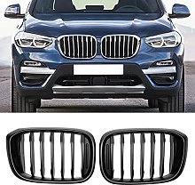 SXPENG Car single slats front kidney grill, for-