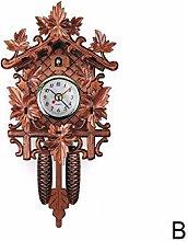SXXXIT wall clock Decorative Bird Wall Clock