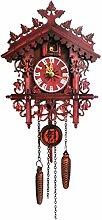 SXXXIT wall clock Vintage Clock Wooden Wall Cuckoo