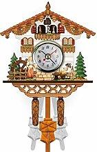 SXXXIT wall clock Vintage Home Decorative Bird