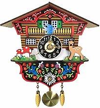SXXXIT wall clock Vintage Wooden Cuckoo Wall Clock
