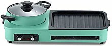 SXXYTCWL Electric Grill Household Smoke-free Grill