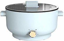 SXXYTCWL Portable Electric Shabu Hot Pot BBQ Metal