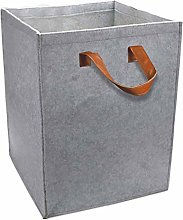 SXXYXH Foldable Felt Bag Storage Basket, Portable