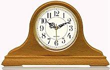 SXZHDZ Mantel Clock Solid Wood Grandfather Clock