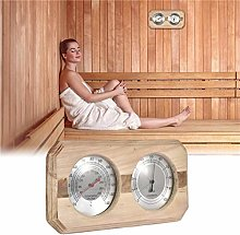 sycamorie Double Dial Thermometer Hygrometer Sauna