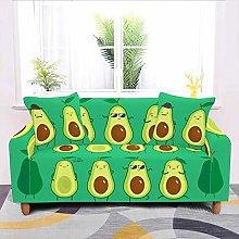 SYDBAODAN Universal Sofa Slipcover,Cartoon Green