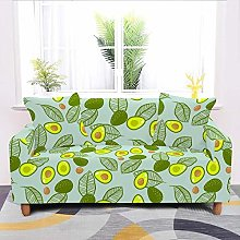 SYDBAODAN Universal Sofa Slipcover,Green Cartoon