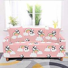 SYDBAODAN Universal Sofa Slipcover,Pink Cartoon