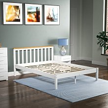 Sydney Bed Frame Hashtag Home Size: Double