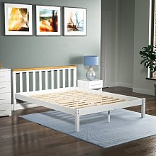 Sydney Bed Frame Hashtag Home Size: Kingsize