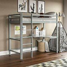 Sydney Bunk Bed With Desk, Grey