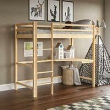 Sydney Bunk Bed With Desk, Pine