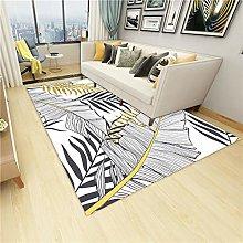 SYFANG Bedroom Home Decor Nursery Rugs,Sketch line