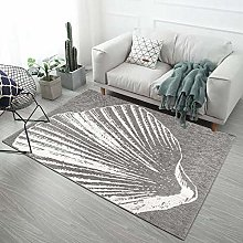 SYFANG mussels Fluffy Rug for the Bedroom, Living