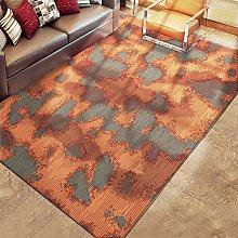 SYFANG Ultra Soft Indoor Modern Area Rugs,Orange