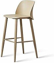 SYLOZ Bar Chair Stools,Nordic Front Desk Chair Bar