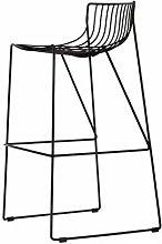 SYLOZ Bar Stools European High Bar Chair Wrought