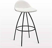 SYLOZ Bar Stools, Nordic Wrought Iron Bar Chair