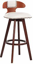 SYLOZ Solid Wood Bar Stools Chair Front Desk Chair