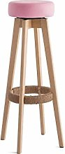 SYLOZ Solid Wood Bar Stools,Table Chair High Bar