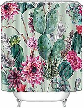 SYLZBHD Cactus printing polyester shower curtain