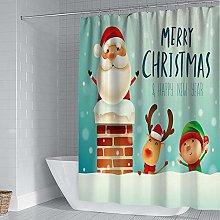 SYLZBHD Christmas decoration curtains home