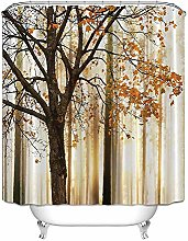 SYLZBHD Landscape printing bathroom shower curtain