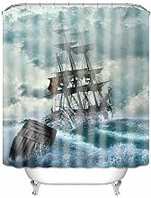 SYLZBHD Printing shower curtain polyester