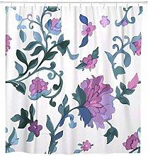 SYLZBHD Watercolor Shower Curtain Waterproof Set