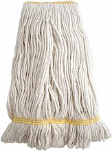Synthetic Kentucky Mop Heads Yellow 450G - Cotswold