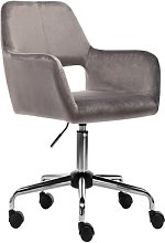 Syren Desk Chair Canora Grey Colour (Upholstery):