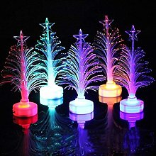 Sysow LED Christmas Tree Night Light with