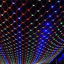 Sysow LED light net light curtain, LED net mesh