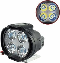 Sysow Motorcycle headlights, waterproof LED
