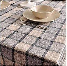 Sywlwxkq Tablecloth Tartan Grid Checkered Lattice
