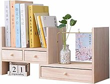 SYyshyin Adjustable Wood Shelf Desk Shelf