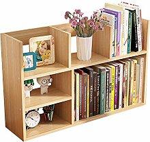 SYyshyin Bookshelf and Bookcase Book Storage